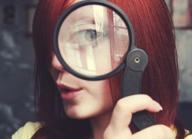 Magnifying glass by Mimiori
