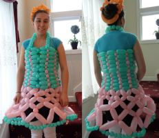 Balloon dress by doganie