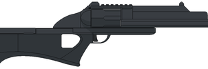 """ARS-1 Shotgun """"Ares"""" by EdXCal"""