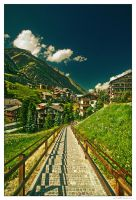 Road To Zermatt by miki3d
