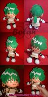 chibi Ferio plush version by Momoiro-Botan