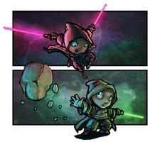 My Baby May Be: A Jedi by AstroLemur