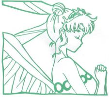 Neo-Queen Serenity Papercut by usagisailormoon20
