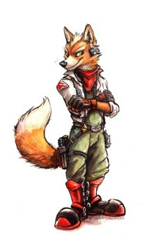 Fox McCloud by kenket
