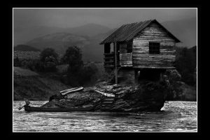 House on the river by limbonic78