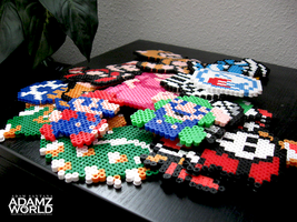 Perler Bead Creations by Adamzworld