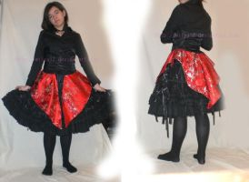 Corset skirt by Wilya12