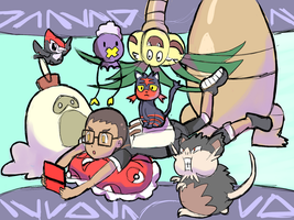 Trainer and Current Pokemon