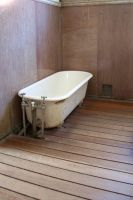 Victorian bathroom and tub by paintresseye