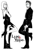 AC: Mr. Lupo + Mrs. Volpe by thunderjelly