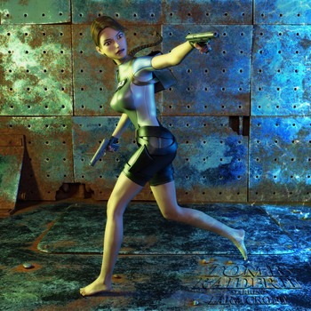 Classic Raider 23 by tombraider4ever