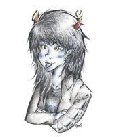 Vriska by wolforchid