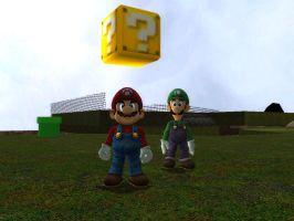 Mario 2 Is At A Stop by SuperSmashBrosGmod
