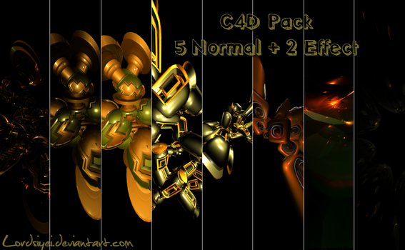 Mixed C4D Pack by Lordsiyei