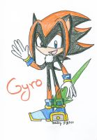 Gyro the Hedgehog by BeckImaginative