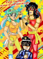 Kaitou Tonchinkan: Ready for Action!! by YamchaFan91