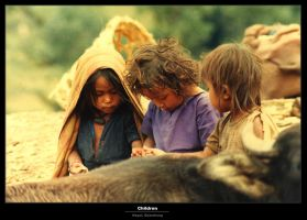 Children of Nepal by virtualwizz