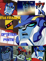 I LOVE OPTIMUS PRIME by Kuma-Gahan