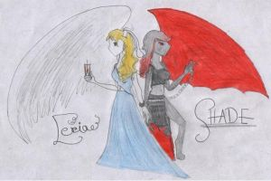 Shade and Leria by Courageous-Kyla