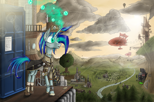 Steampunk Flare by Masdragonflare