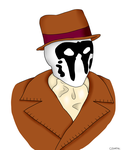 Rorschach by cosartmic