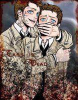 LeviathanXCastiel by glaringstar