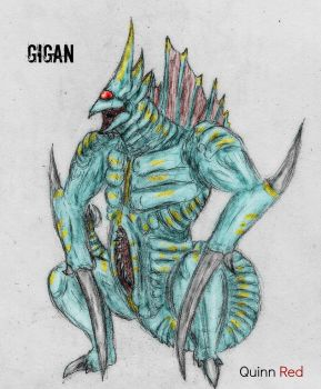 Gigan Blue by Quinn-Red