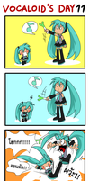 Vocaloid's Day 11 by Coffgirl