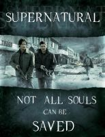 Supernatural poster by OfCourseVlada