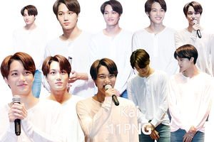 EXO Kai PNG Pack {SMTOWN THE STAGE} by kamjong-kai
