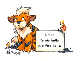growlithe shaming by not-fun