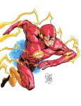 The Flash commission by davidjcutler