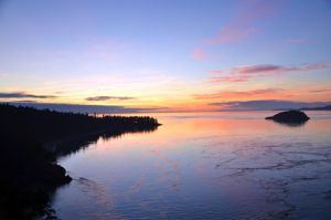 Sunset at Deception pass by ShannonCPhotography