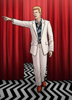 TWIN PEAKS- Phillip Jeffries by PaulHanley