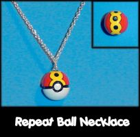 Repeat Ball Necklace Charm by YellerCrakka