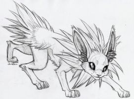 Jolteon by TheSolitarySandpiper