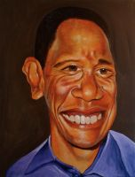 Barack Obama by JimmyMcCullough