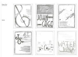 Typography Poster Sketches I by Bezmo
