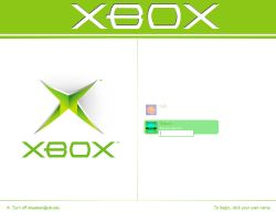 Xbox Logon by shawken