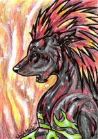 Set This Place On Fire ACEO by WhiteExterior