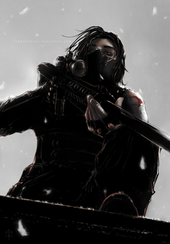 : Winter Soldier recolor : by BastardPrince