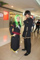 CC and Lelouch by loligoth13