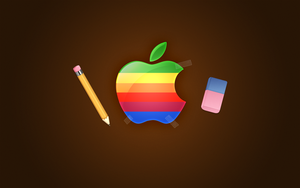Apple Retro by Flarup