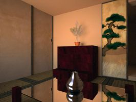 Japanese Style room by Lekane