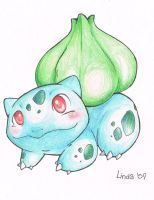 Bulbasaur by KayaaXx