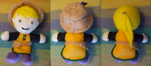 Yellow Plushie by Ferngirl
