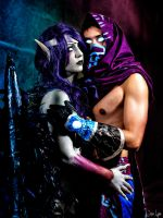 Malzahar / Morgana Not all Angels are good. by Missyeru