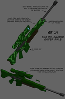 SR 14 sniper rifle by Darkheart1987