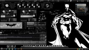 The Dark Knight Desktop by GojiraDaikaiju1954
