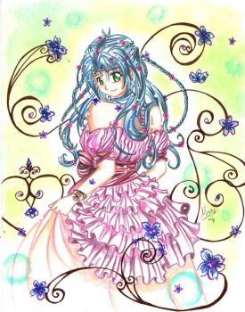 Princess Stacy scan by MaeriAngel